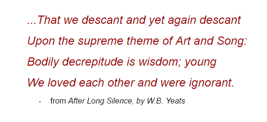 Yeats Decreptude